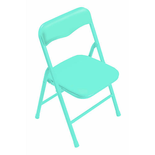 Kids Only Girls Playtime Padded Folding Chair - Sky Blue (Colors/Styles May Vary)