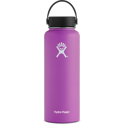 HYDRO FLASK 40 oz. Wide Mouth Water Bottle with Flex Cap