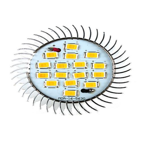 2pcs GU10 16 LED 5630 SMD 6.4W Energy Saving Spot Light Lamp Bulb 85-265V Warm White