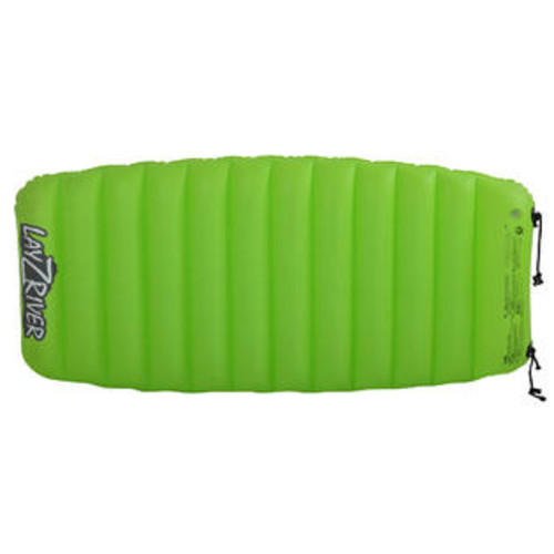 Blue Wave Sports Lay-Z-River Air Mattress Float for Lakes, Pools & Rivers 1-Person Green