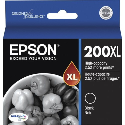 Epson - 200XL High Yield Ink Cartridge - Black