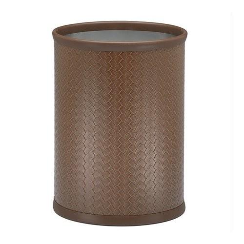Kraftware San Remo Pinecone 13 Qt. Oval Waste Basket