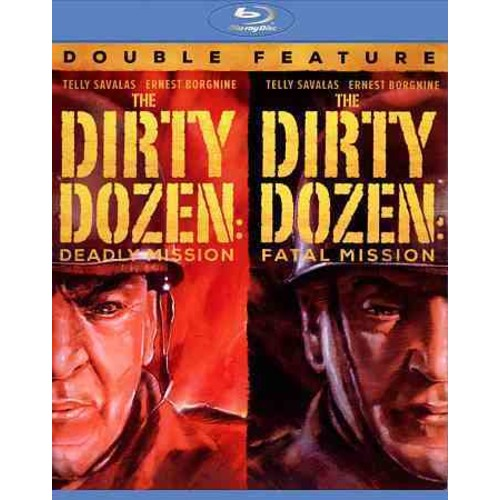 Dirty Dozen Double Feature (Blu-ray Disc)