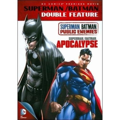 Superman/Batman Double Feature: Public Enemies/Apocalypse [2 Discs] [DVD]