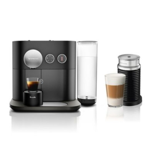 Nespresso By Breville Expert & Milk Espresso Maker in Black