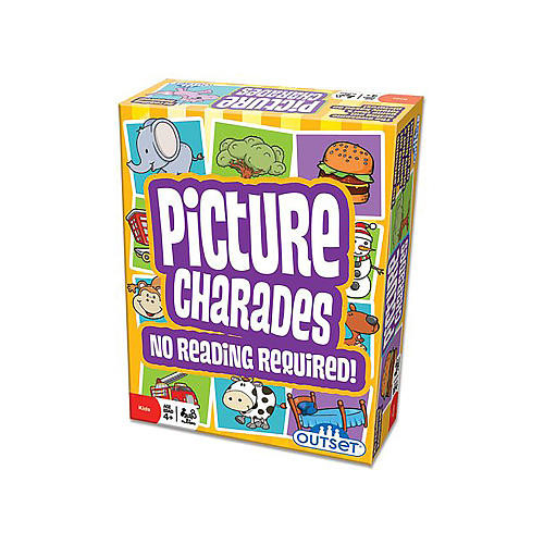 Outset Media Picture Charades Classic Party Game