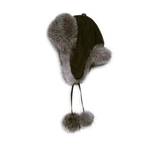 Surell - Dyed Fox Fur Trapper Hat