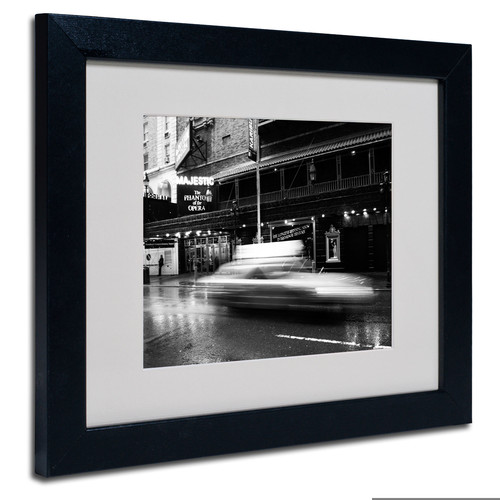 Trademark Global Yale Gurney 'The Majestic' Matted Framed Art [Overall Dimensions : 11x14]