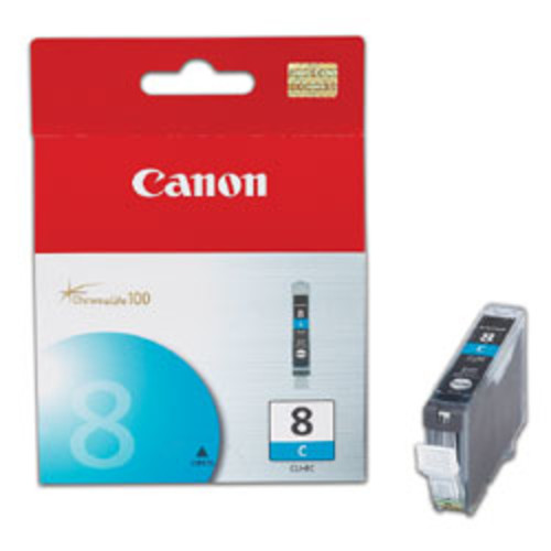 Canon CLI-8C ChromaLife 100 Cyan Ink Cartridge (0621B002AA)