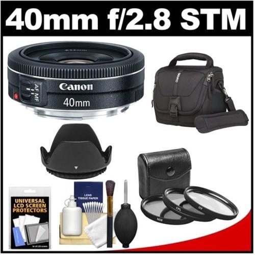 Canon - Bundle EF 40mm f/2.8 STM Pancake Lens