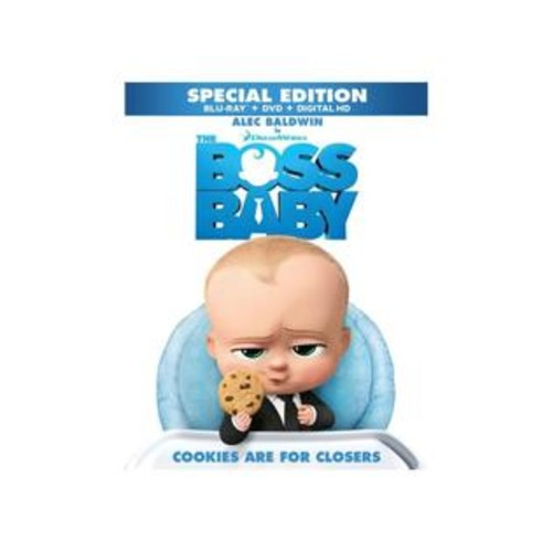 Dreamworks The Boss Baby Special Edition Blu-Ray Combo Pack (Blu-Ray/DVD/Digital HD)
