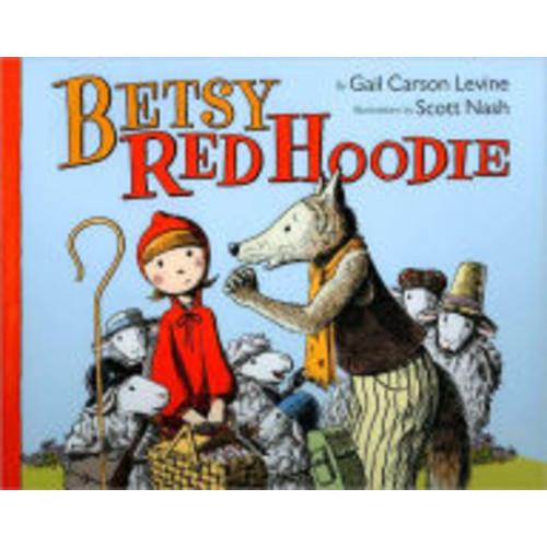 Betsy Red Hoodie