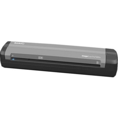 Ambir ImageScan Pro 490ix Sheetfed Scanner, 600 dpi Optical