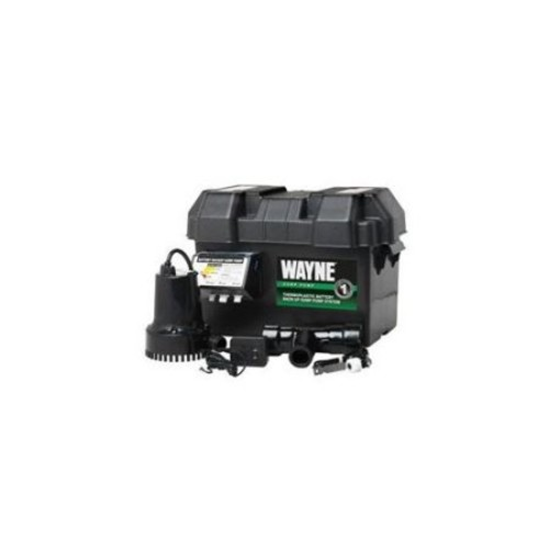 Wayne 1/4 HP - 12-Volt Battery Backup Sump Pump System
