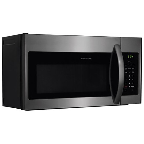 Frigidaire 1.6 Cu. Ft. Over-the-Range Microwave - Black Stainless Steel