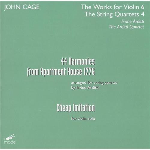 Cheap Imitation / Harmonies Apartment House 1 CD