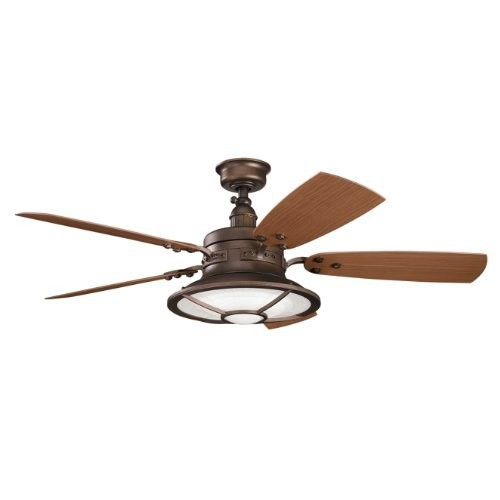 Kichler 310102WCP 52`` Ceiling Fan [Weathered Copper]