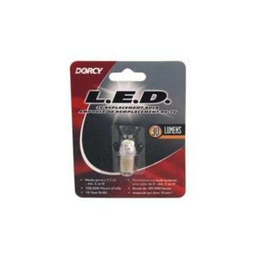 Dorcy International Dorcy 41-1643 30-Lumen 3-Volt Led Replacement Bulb - 6 Pack