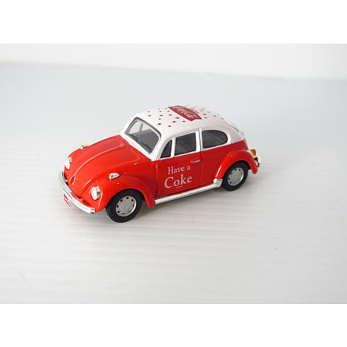 Coca Cola 1966 Volkswagen Beetle- Red