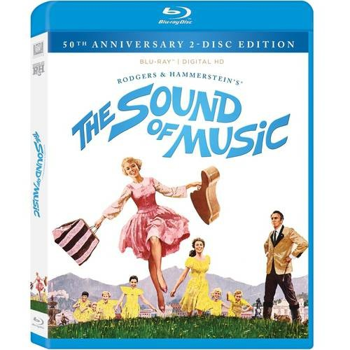 The Sound of Music [50th Anniversary 2-Disc Edition] [2 Discs] [Includes Digital Copy] [Blu-ray] COLOR DHMA/DD5.1/DD4.0/DTS
