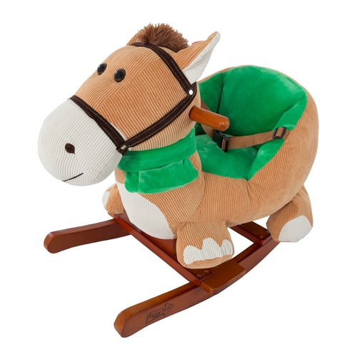 Happy Trails Rocking Horse Plush Animal withSounds