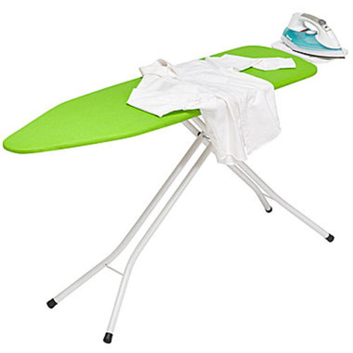 Honey-Can-Do Adjustable Stand-Up Ironing Board with Iron Rest