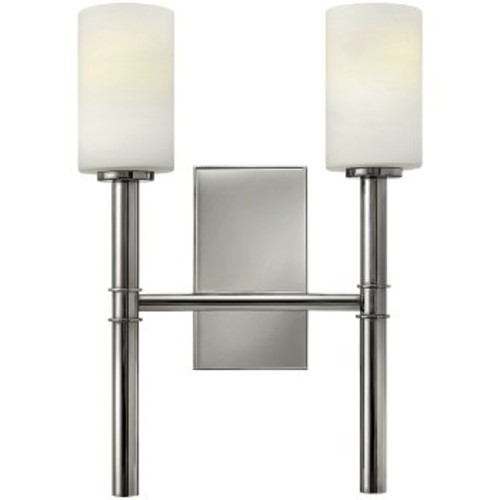 Margeaux 2-Arm Wall Sconce [Finish : Polished Nickel]