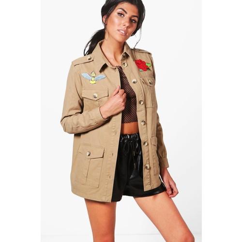 Kaya Embroidered Utility Jacket