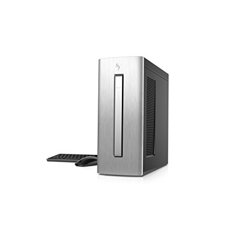 HP ENVY Desktop Computer, Intel Core i7-7700, AMD Radeon RX 460, 8GB RAM, 1TB hard drive, 256GB SSD, Windows 10