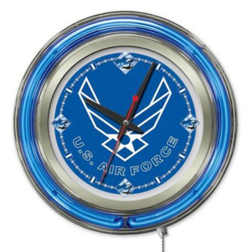 Trademark Games Billiards & Pool United States Navy Neon Clock