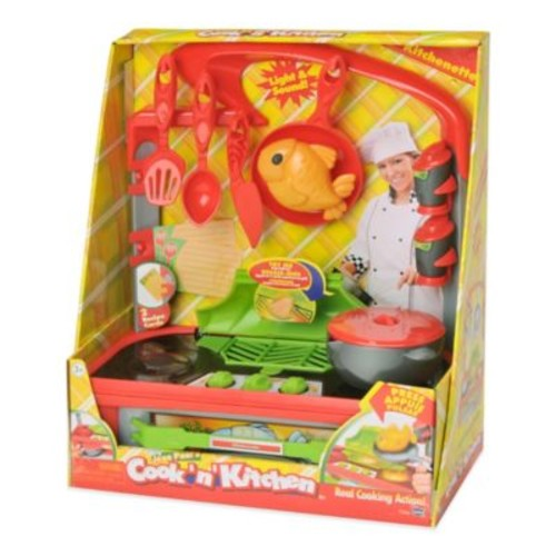 Cook N Kitchen Kitchenette with Grill Playset