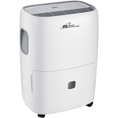 Royal Sovereign - 70-Pint Portable Dehumidifier - White