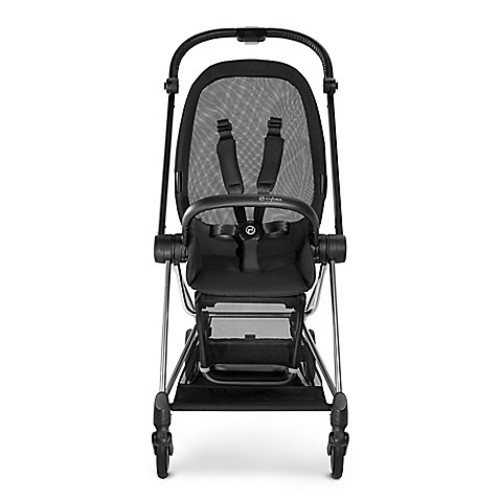 CYBEX Platinum MIOS Stroller Frame and Seat in Black/Chrome