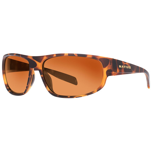 NATIVE EYEWEAR Crestone Sunglasses, Desert Tort/Brown