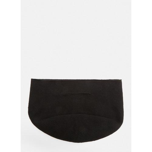 Crochet Bowl Bag in Black
