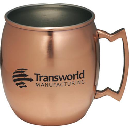 'Moscow Mule' Copper Mug