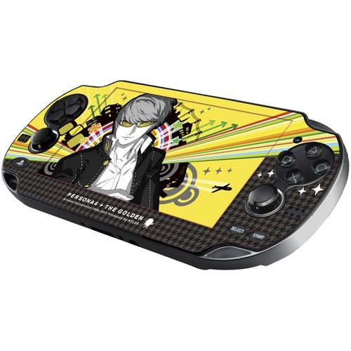 P4G: Persona 4 Golden Skin and Wallpaper Set for PS Vita (Gift with Pre-Order) - PS Vita