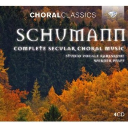 Complete Secular Choral Music (Box) - CD