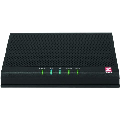 Zoom 343 Mbps DOCSIS 3.0 8X4 Cable Modem (Model 5341J)