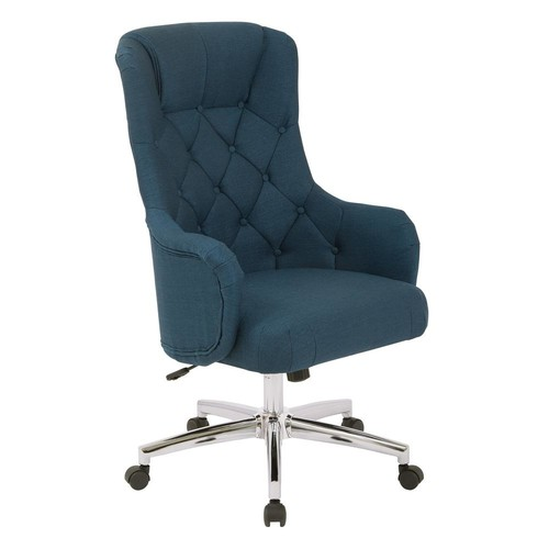 Ave Six Ariel Azure Desk Chair