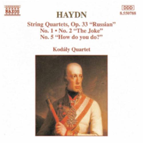 Kodaly Quartet - Haydn:String Quartets Op. 2 No. 3 & 5