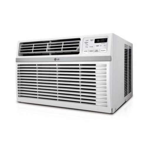 LG Electronics 8,000 BTU 115-Volt Window Air Conditioner with Remote and ENERGY STAR
