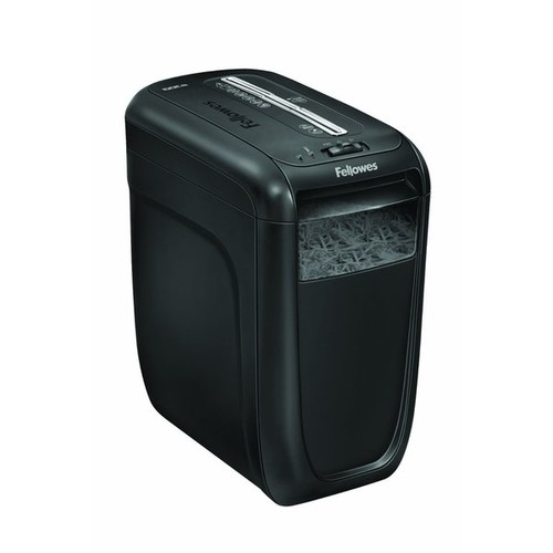 Fellowes Refurbished Powershred 60Cs Light-Duty Cross-Cut Shredder 10 Sheet Capacity