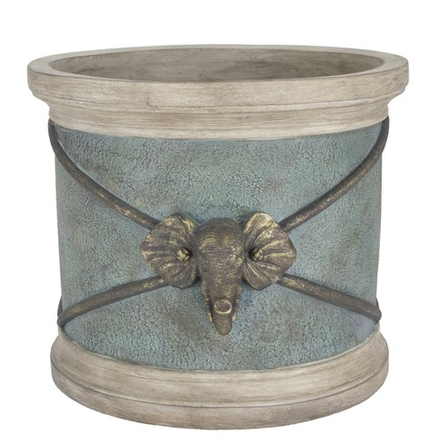 Bombay Outdoors Planters, Hangers & Stands Bombay Outdoors Raja Elephant Planter
