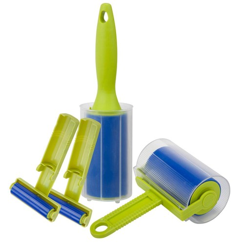 Honey-Can-Do 4-Piece Reusable Lint Roller Kit