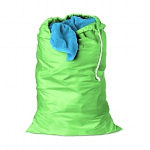 Honey Can Do Jersey Cotton Laundry Bag, 24 X 36 Green