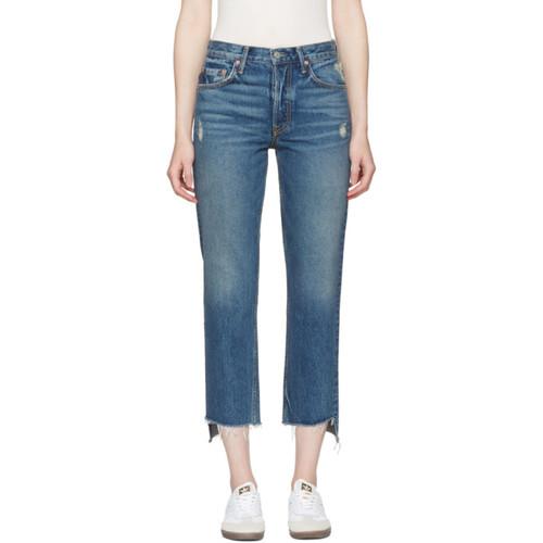 GRLFRND Blue Helena Jeans