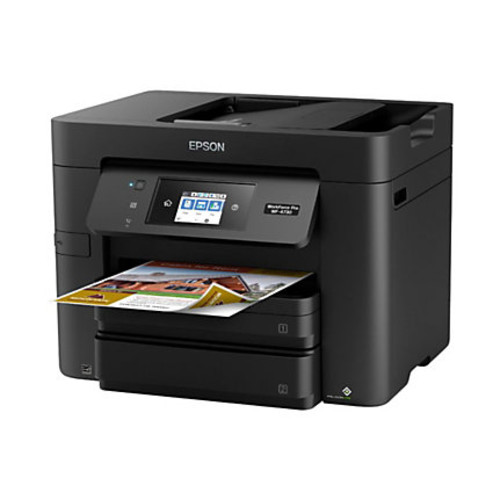 Epson WorkForce Pro WF-4730 Wireless All-In-One Printer, Copier, Scanner, Fax