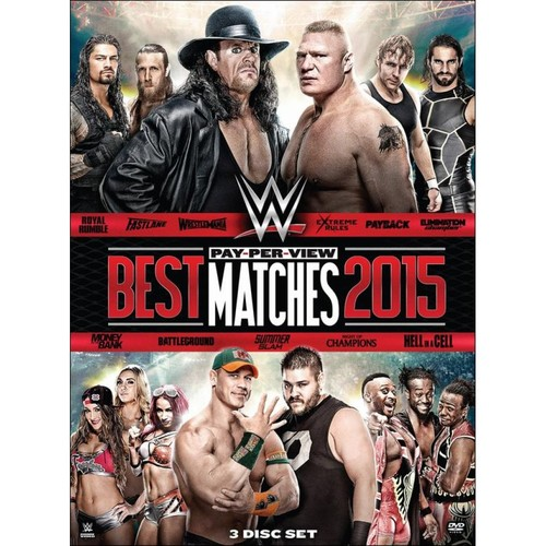 WWE: Best Pay-Per-View Matches 2015 [DVD] [2015]