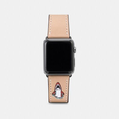 apple watch strap with sharky